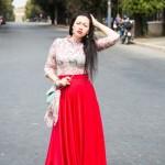 Про длинную красную юбку