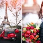 В свой свадебный день в Париже