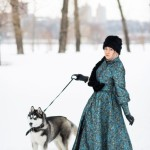 В белоснежных полях России