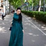 Милый образ для прогулки по Барселоне