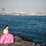 Наряд принцессы в розовом