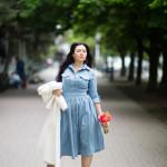 джинсовое платье — вечный тренд