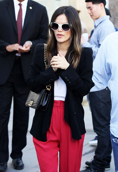Rachel Bilson visits the Sunglass Hut Store in Santa Monica, CA. Pictured: Rachel Bilson Ref: SPL368693 130312 Picture by: Splash News Splash News and Pictures Los Angeles:310-821-2666 New York:212-619-2666 London:870-934-2666 photodesk@splashnews.com
