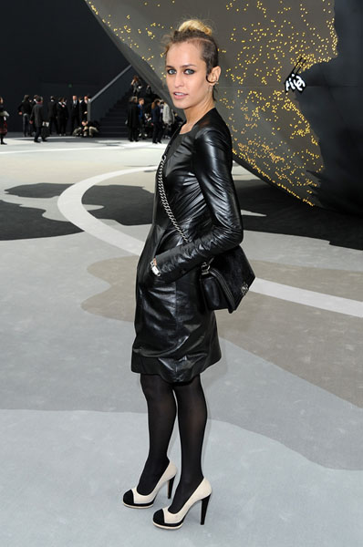 PARIS, FRANCE - MARCH 05: Alice Dellal attends the Chanel Fall/Winter 2013 Ready-to-Wear show as part of Paris Fashion Week at Grand Palais on March 5, 2013 in Paris, France. (Photo by Pascal Le Segretain/Getty Images)