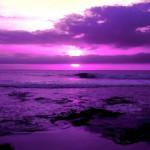Сочетание фиолетового цвета в одежде