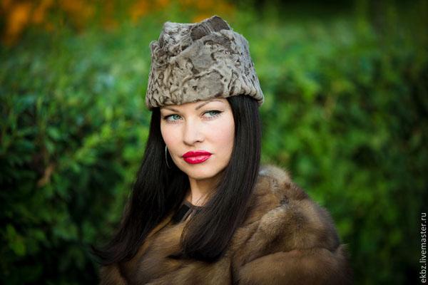 шапка-пилотка- модный тренд