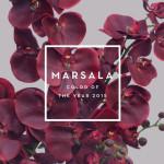 цвет года — Марсала
