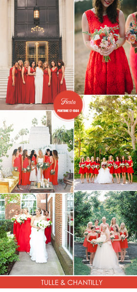 Pantone-fiesta-red-bridesmaid-dresses-for-spring-summer-weddings-2016