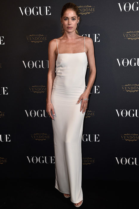 PARIS, FRANCE - OCTOBER 03:  Doutzen Kroes attends the Vogue 95th Anniversary Party on October 3, 2015 in Paris, France.  (Photo by Pascal Le Segretain/Getty Images for Vogue)