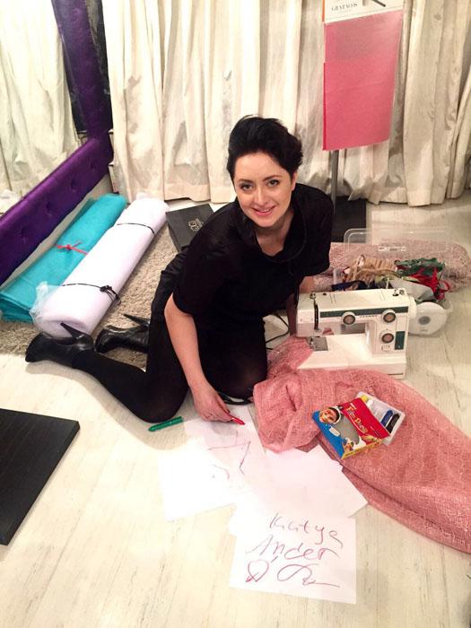 Designer Katya Anderzhanova