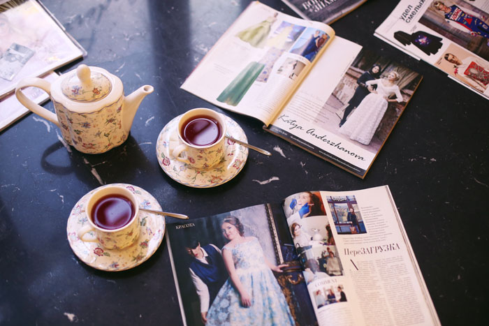Press about Katya Anderzhanova