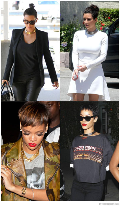 celebrities-celine-id-chain-choker-necklace