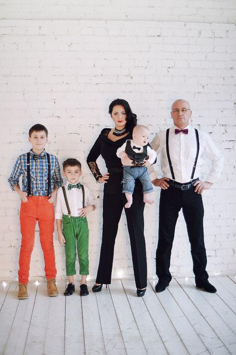 family Katya Anderzhanova