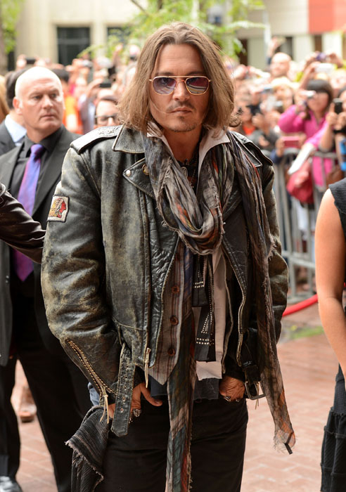 "TORONTO, ON - SEPTEMBER 08: Actor Johnny Depp attends the ""West Of Memphis"" premiere during the 2012 Toronto International Film Festival at Ryerson Theatre on September 8, 2012 in Toronto, Can (Photo by Jason Merritt/Getty Images)"