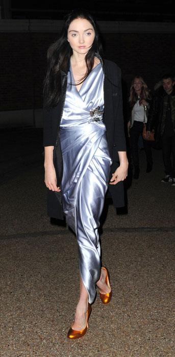 lily_cole_metallic_dress_metal