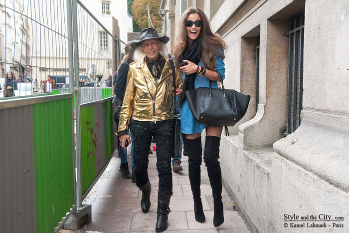 james-godlstein-and-charlotte-collard-at-paris-fashion-week