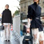 Как правильно носить прозрачные платья.Как носить прозрачное платье с брюками.