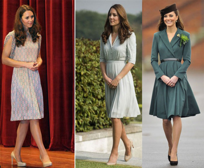Платье стиля леди лайк