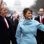 Мелания Трамп на инаугурации Дональда Трампа