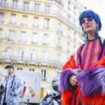 Стритстайл мужской недели моды в Париже сезон осень зима 2017