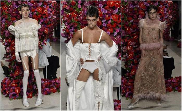 Показ весенне-летней коллекции michael kors collection на неделе моды в нью-йорке