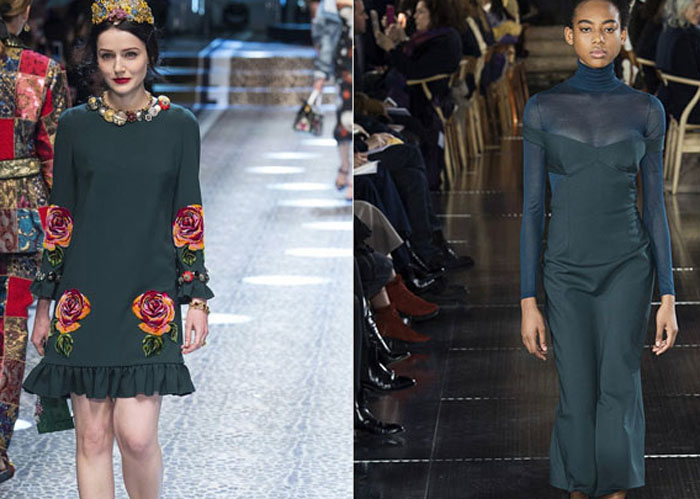 Модные цвета осень-зима 2017