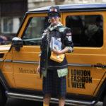 Уличный стиль во время недели моды в Лондоне весна 2018
