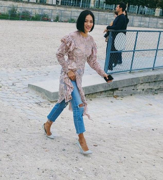 Неделя моды в Париже весна-лето 2018: street style