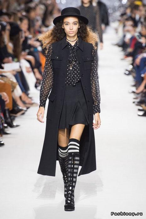 показ Dior весна-лето 2018