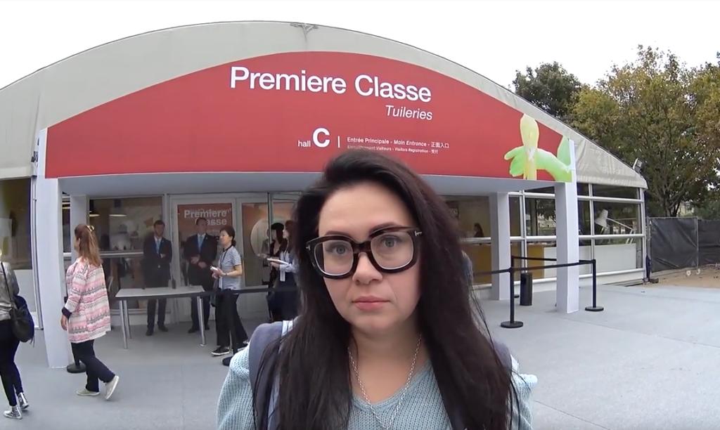 """Выставки """"premiere classe"""" В Париже 2017"""