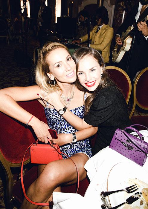 Гала-ужин модного Дома Ulyana Sergeenko и ювелирного Дома Faidee в Монако