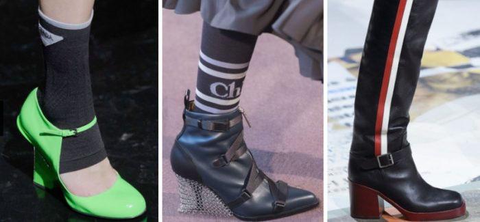 Тренды обувь осень 2019