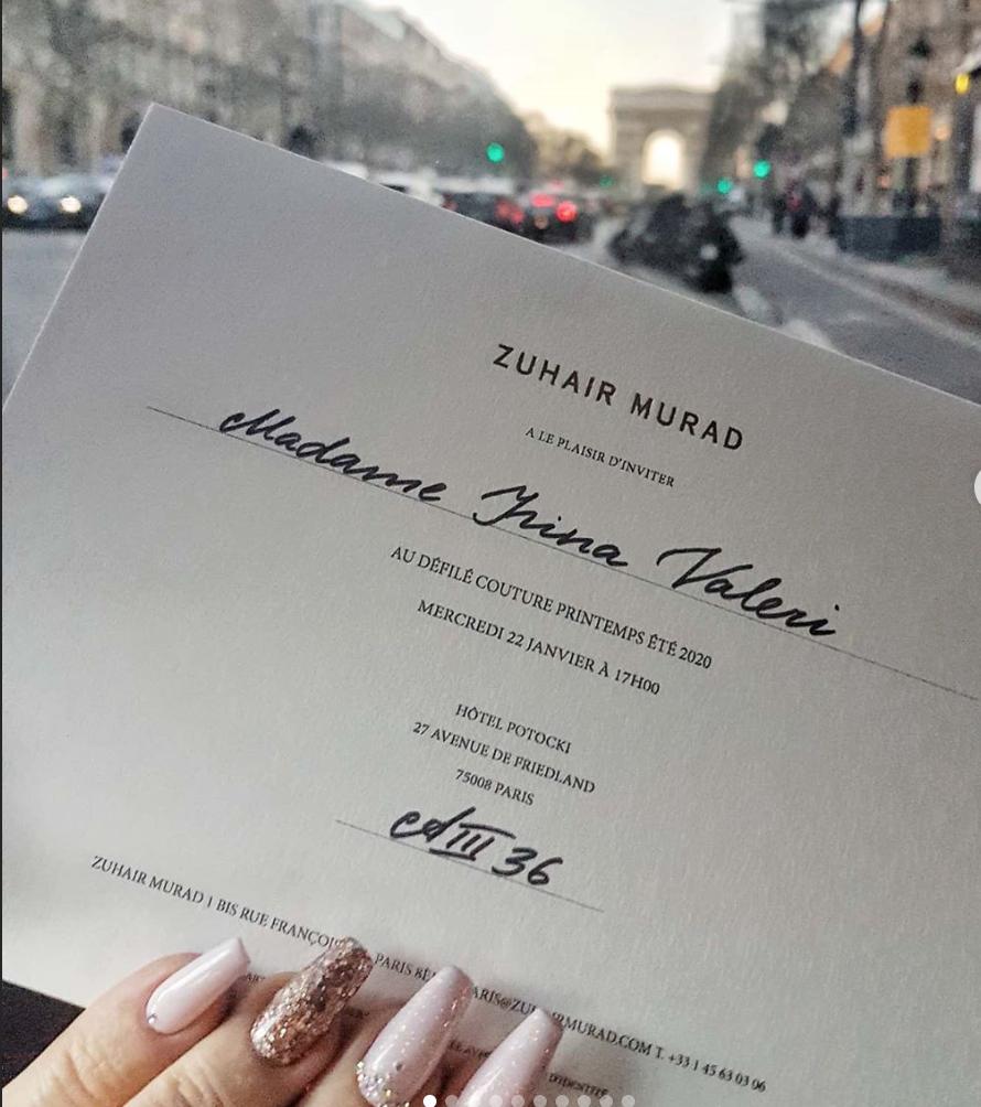 Zuhair Murad коллекция Haute Couture 2020