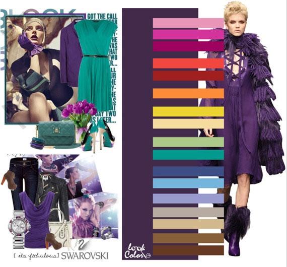 Готический фиолетовый
